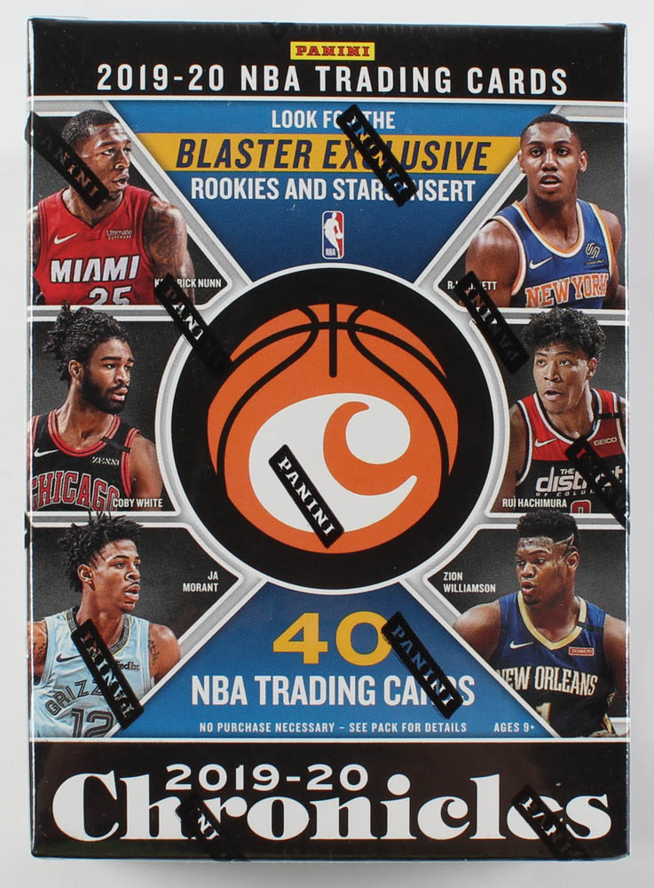 2019-20 Panini Chronicles Basketball Blaster Box with (40) Cards at PristineAuction.com