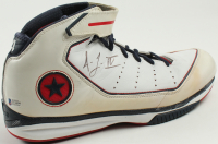 """Acie Law Signed """"Lawman IV"""" Game Model Converse Shoe (Beckett COA) at PristineAuction.com"""