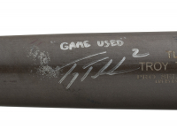 Troy Tulowitzki Signed Game-Used Tucci Player Model Baseball Bat (PSA LOA) at PristineAuction.com