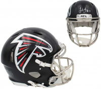 Julio Jones Signed Falcons Full-Size Authentic On-Field Speed Helmet (Beckett COA) at PristineAuction.com