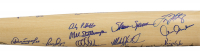 LE Yankees 1998 World Series Champions Custom Engraved Baseball Bat Team-Signed by (27) with David Cone, Derek Jeter, Mariano Rivera, Joe Torre (JSA LOA) at PristineAuction.com