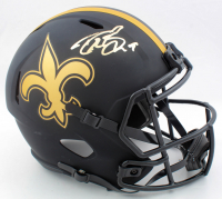 Drew Brees Signed Saints Full-Size Eclipse Alternate Speed Helmet (Beckett Hologram & Brees Hologram) at PristineAuction.com