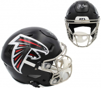 Julio Jones Signed Falcons Full-Size Authentic On-Field SpeedFlex Helmet (Beckett COA) at PristineAuction.com