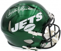 Curtis Martin Signed Jets Full-Size Authentic On-Field Speed Helmet (Radtke COA) at PristineAuction.com