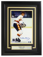 Bobby Orr Signed Bruins 11x14 Custom Framed Photo Display (GNR COA) at PristineAuction.com