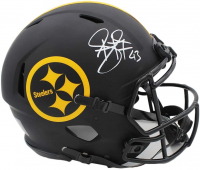 Troy Polamalu Signed Steelers Full-Size Authentic On-Field Eclipse Alternate Speed Helmet (Radtke COA) at PristineAuction.com