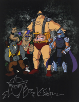 Kevin Eastman Signed 11x14 Photo with Hand-Drawn Shredder Sketch (PA COA) at PristineAuction.com