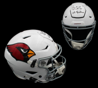 """Patrick Peterson Signed Cardinals Full-Size Authentic On-Field SpeedFlex Helmet Inscribed """"No Fly Zone"""" (Radtke COA) at PristineAuction.com"""