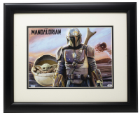 """The Mandalorian"" 11x14 Custom Framed Photo Display at PristineAuction.com"