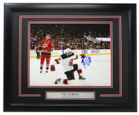 P.K. Subban Signed Devils 16x20 Custom Framed Photo Display (JSA COA) at PristineAuction.com