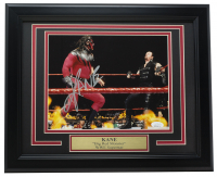 Kane Signed WWE 16x20 Custom Framed Photo Display (JSA COA) at PristineAuction.com