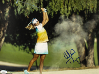 Lexi Thompson Signed 11x14 Photo (JSA COA) at PristineAuction.com