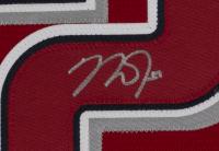 "Mike Trout Signed Angels 32x36 Custom Framed Jersey Display Inscribed ""2012 AL ROY"" (MLB Hologram) at PristineAuction.com"