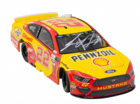 Joey Logano Signed 2019 NASCAR #22 Pennzoil - 1:24 Premium Action Diecast Car (PA COA & Beckett COA) at PristineAuction.com