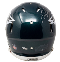 """Nick Foles Signed Eagles Full-Size Authentic On-Field Speed Helmet Inscribed """"SB LII MVP"""" (Fanatics Hologram) at PristineAuction.com"""