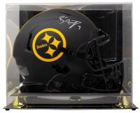 Ben Roethlisberger Signed Steelers Full-Size Eclipse Alternate Speed Helmet with Display Case (Fanatics Hologram) at PristineAuction.com
