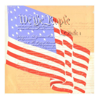 """Steve Kaufman Signed """"We the People"""" Hand Pulled Limited Edition 24x24 Silkscreen on Canvas AP #42/50 at PristineAuction.com"""