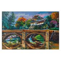 "Yana Rafael Signed ""Scenic China"" 24x36 Original Painting on Canvas at PristineAuction.com"