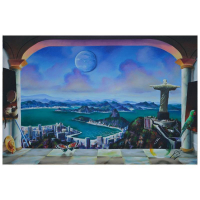 """Ferjo Signed """"Brazil"""" 24x36 Original Painting on Canvas at PristineAuction.com"""