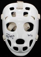 "Tony Esposito Signed Full-Size Throwback Hockey Mask Inscribed ""HOF 88"" (Schwartz COA) at PristineAuction.com"