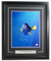"Ellen Degeneres Signed ""Finding Nemo"" 18x22 Custom Framed Photo Display (PSA COA) at PristineAuction.com"
