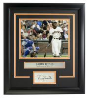 Barry Bonds Giants 14x18 Custom Framed Photo Display at PristineAuction.com