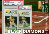 Icon Authentic SPX Black Diamond Series 2 Mystery Box 50+ Cards Per Box at PristineAuction.com