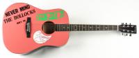 "Johnny Rotten Signed Sex Pistols 40"" Acoustic Guitar (PSA Hologram) at PristineAuction.com"