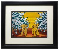 The Lion King 16x20 Custom Framed Photo Display at PristineAuction.com