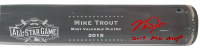 """Mike Trout Signed 2015 All-Star Game LE Acrylic Baseball Bat Inscribed """"2015 ASG MVP"""" (MLB Hologram) at PristineAuction.com"""