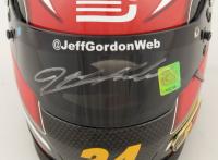 Jeff Gordon Signed NASCAR Limited Edition AARP/DTEH 1:3 Scale Mini-Helmet (Gordon Hologram) (See Description) at PristineAuction.com