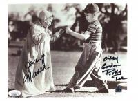 "Eugene Gordon Lee & Jerry Maren Signed ""Tiny Troubles"" 8x10 Photo Inscribed ""Porky"" & ""O'tay"" (JSA COA) at PristineAuction.com"