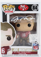 Joe Montana Signed 49ers #84 Funko Pop! Vinyl Figure (Beckett COA) at PristineAuction.com