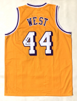 "Jerry West Signed Jersey Inscribed ""The Logo"" (JSA COA) at PristineAuction.com"