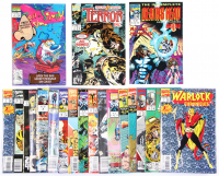Lot of (20) Marvel Comic Books Issues Ranging from #1 - #150 at PristineAuction.com