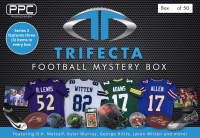 Press Pass Collectibles 2020 Football Trifecta Mystery Box - Series 3 (Limited to 50) at PristineAuction.com