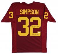 "O.J. Simpson Signed Jersey Inscribed ""Heisman 68'"" (JSA COA) at PristineAuction.com"