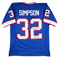 "O.J. Simpson Signed Jersey Inscribed ""H.O.F. 85"" (JSA COA) at PristineAuction.com"