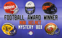 Schwartz Sports Football Award Winner Signed Mini Helmet Mystery Box – Series 1 (Limited to 100) at PristineAuction.com