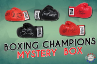 Schwartz Sports Boxing Champion Signed Boxing Glove Mystery Box - Champions Edition Series 1 (Limited to 75) at PristineAuction.com