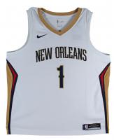 Zion Williamson Signed Pelicans Jersey (Fanatics Hologram) at PristineAuction.com