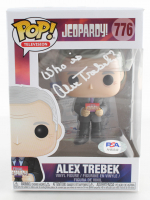 "Alex Trebek Signed ""Jeopardy"" #776 Funko Pop! Vinyl Figure (PSA COA) at PristineAuction.com"
