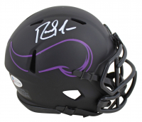 Randy Moss Signed Vikings Eclipse Alternate Speed Mini-Helmet (Beckett COA) at PristineAuction.com