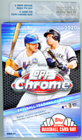 2020 Topps Chrome Baseball Hanger Box - 1 Bonus Pack of Topps Update Included at PristineAuction.com