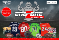 Press Pass Collectibles 2020 Football Endzone Mystery Box – Series 1 (Limited to 50) at PristineAuction.com