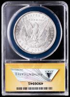 1890 Morgan Silver Dollar, VAM-25A (ANACS AU58) at PristineAuction.com