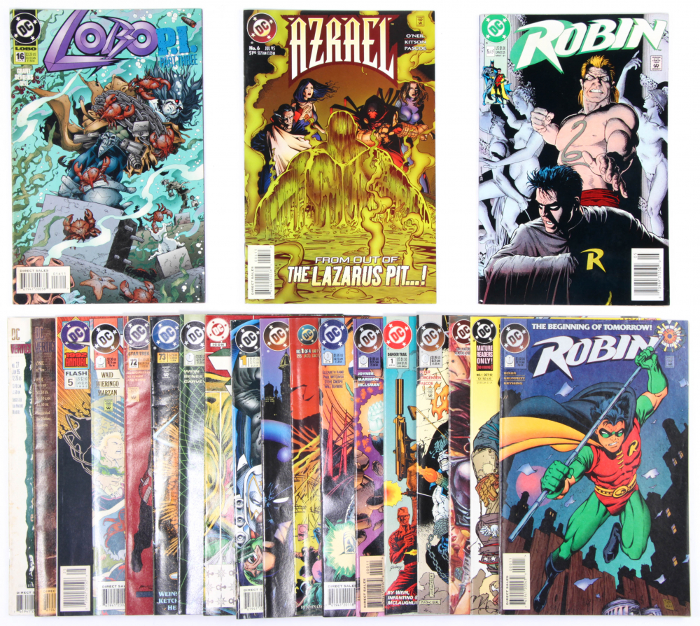 Lot of (21) DC Comic Books Issues Ranging from #0 - #72 at PristineAuction.com
