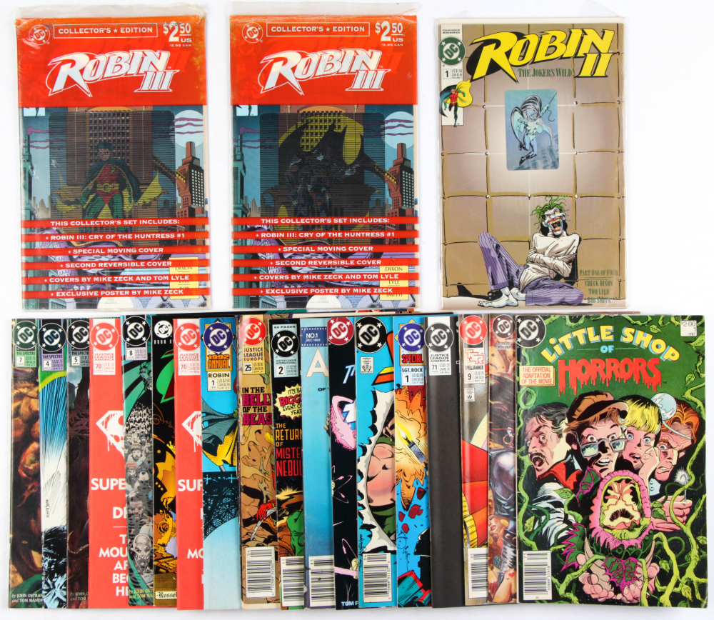 Lot of (21) DC Comic Books Issues Ranging from #1 - #71 at PristineAuction.com