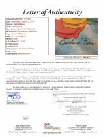 "Barbara Eden Signed I Dream of Jeannie ""Pillow Talk"" LE Custom Framed 18x20 Sericel #2/50 (JSA LOA) at PristineAuction.com"