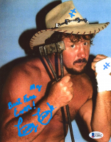 "Terry Funk Signed 8x10 Photo Inscribed ""My Best Fan Ever!"" (Beckett COA) at PristineAuction.com"
